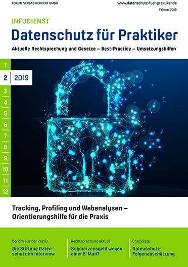Ausgabe Februar 2019<br>Tracking, Profiling und Webanalysen