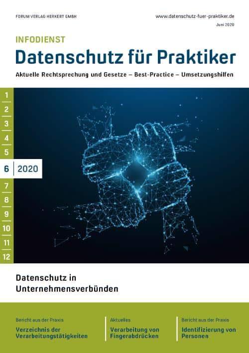 Ausgabe Juni 2020<br>Datenschutz in Unternehmensverbünden